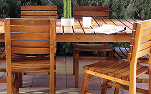 Attractive garden furniture can make a good garden great.