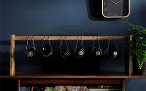 Forget the cellar, keep your wine on hand and looking its best with this innovative wine rack.