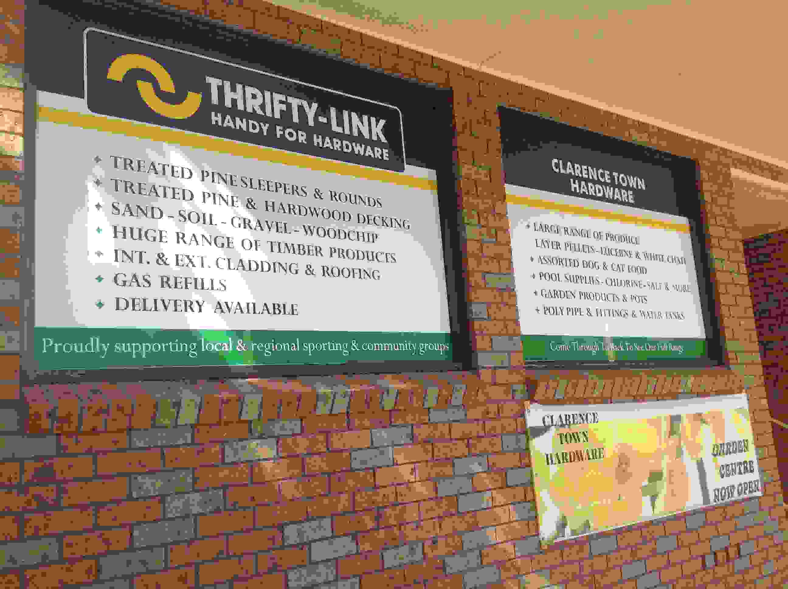 Clarence Town Thrifty Link Store
